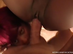 Black African prostitutes, Shade and Shanice had no idea what to expect when they arrived to Antonio`s hotel room! He pulls out his giant dick and tells these girls to suck, slob and swallow his meat scepter. Then, he nails Shanice as Shade licks his ball