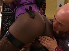 Watch big titted Jada as she bends over for a hard pounding and a creamy jizz shot!